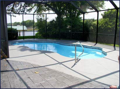 Fiberglass swimming pool designs in jacksonville fl for Pool design jacksonville fl