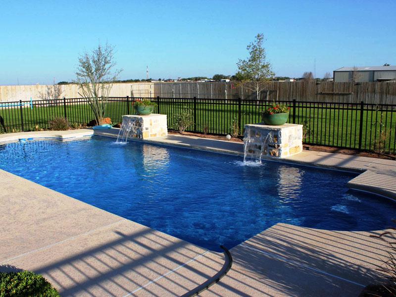 Fiberglass inground swimming pools in jacksonville fl for Pool design jacksonville fl